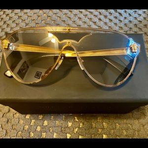 Authentic Versace Medusa men's sunglasses